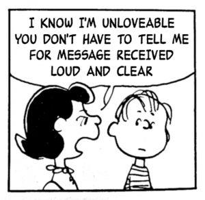 Peanuts - Unlovable
