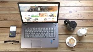 Houston web design - Bizopia